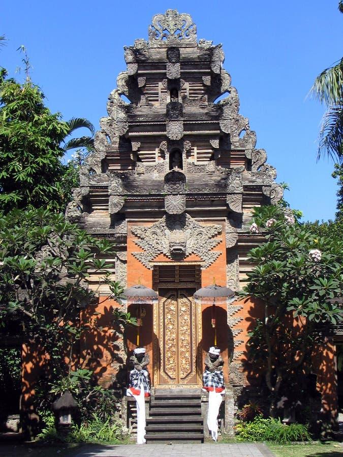 Templo de Bali fotografia de stock royalty free
