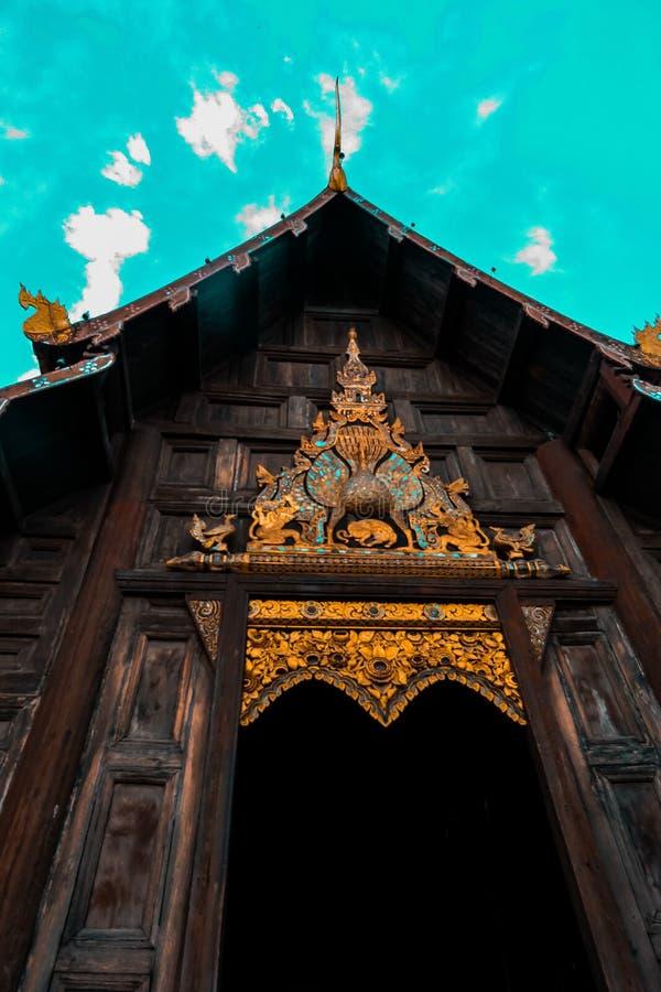 Templo de Banguecoque de Emerald Buddha - imagem de stock