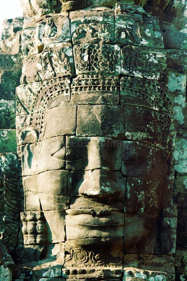 Templo de Bayon en Angkor Wat, Camboya imagenes de archivo