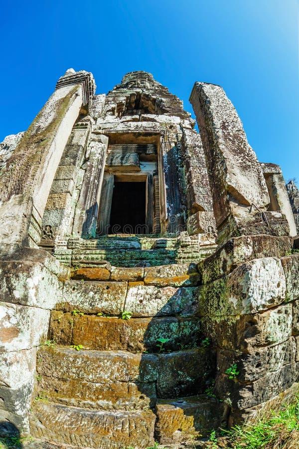 Templo de Bayon en el complejo de Angkor Wat foto de archivo