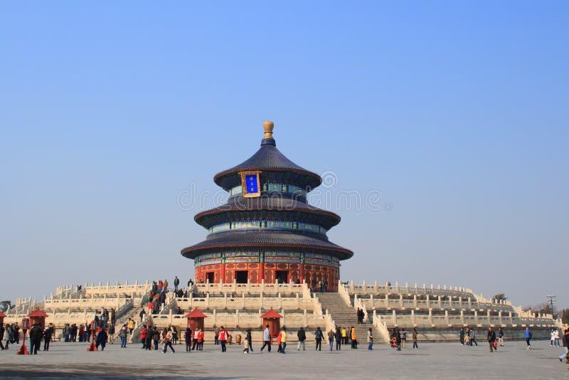 Templo de Beijing de céu 2009 fotos de stock royalty free