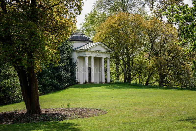 Templo de Bellona, jardines de Kew fotografía de archivo libre de regalías