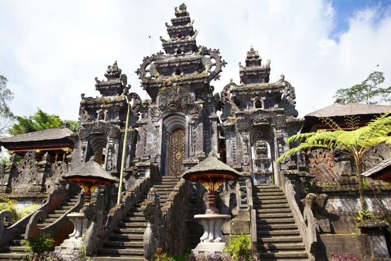Templo de Besakih imagem de stock