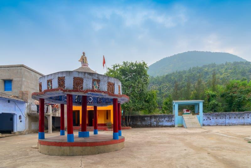 Templo de Biharinath en Bankura, Bengala Occidental, la India fotos de archivo libres de regalías