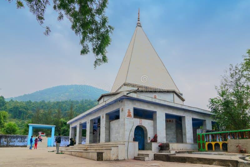 Templo de Biharinath en Bankura, Bengala Occidental, la India fotografía de archivo