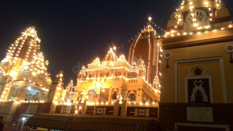 Templo de Birla imagen de archivo