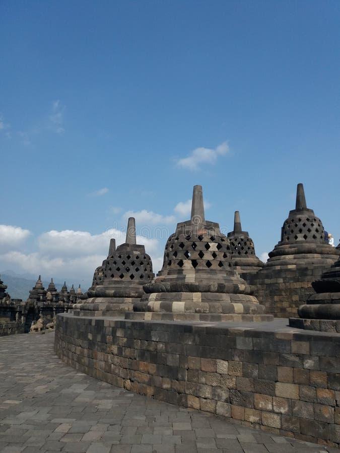 Templo de Borobudur foto de stock royalty free