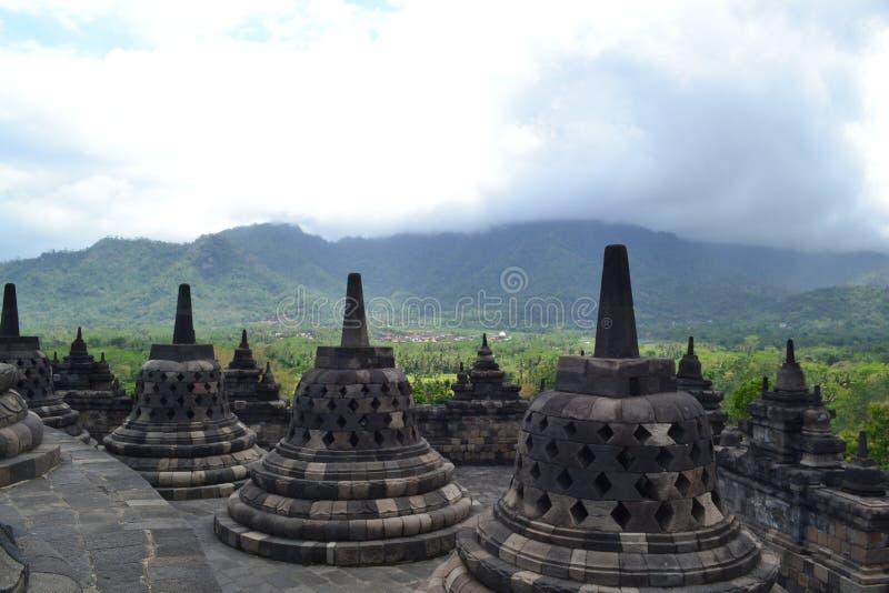 Templo de Borobudur foto de archivo libre de regalías