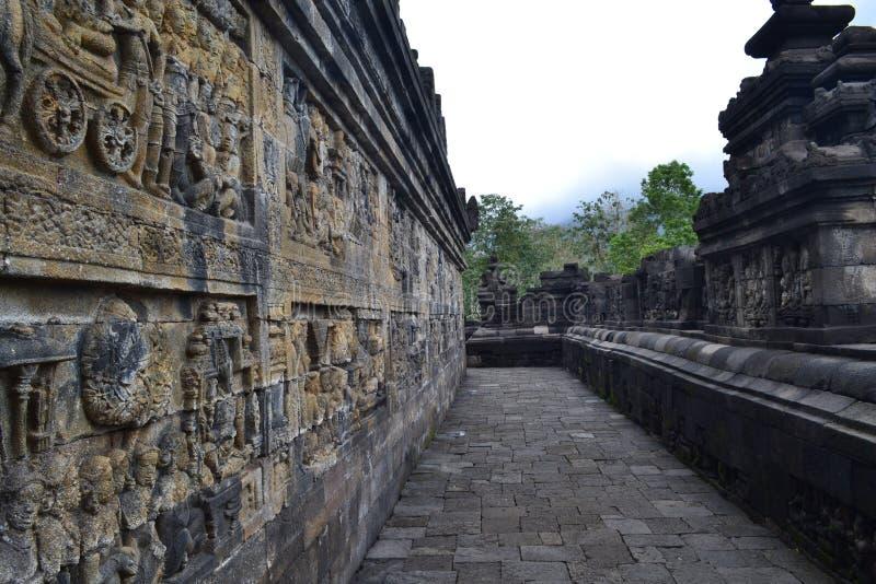 Templo de Borobudur fotografia de stock