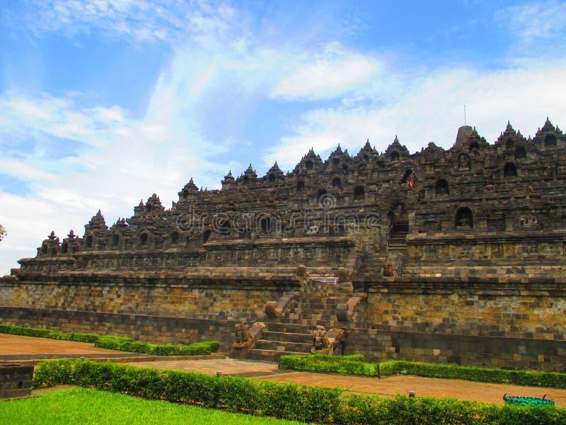 Templo de Borobudur fotografía de archivo