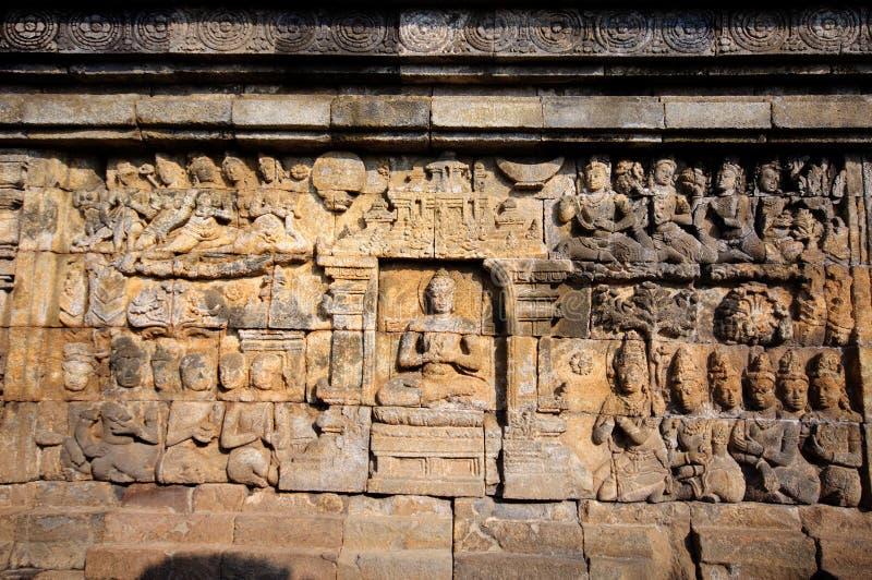 Templo de Borobudur, Java, Indonesia fotos de archivo libres de regalías
