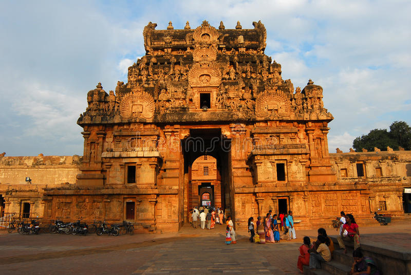 Templo de Brahadeewarar imagens de stock royalty free