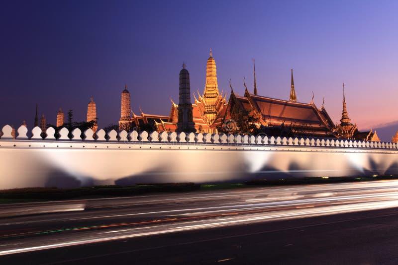 Templo de buddha da esmeralda foto de stock royalty free