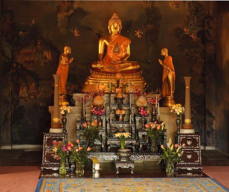 Templo de Buddist fotos de stock royalty free
