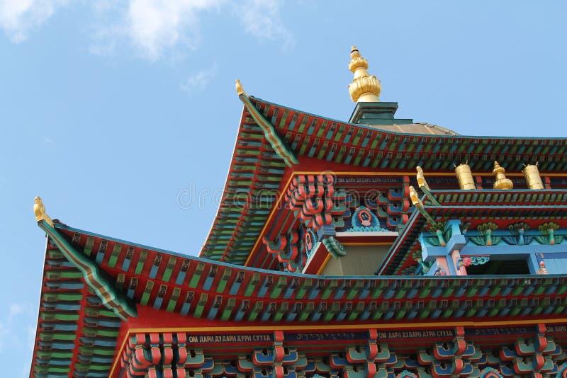 Templo de Buddist foto de stock