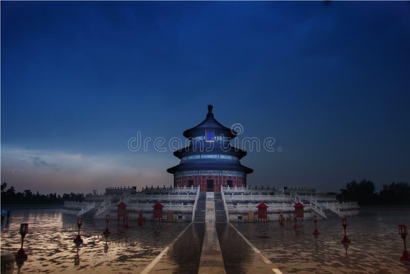 Templo de céu, Beijing, China imagens de stock