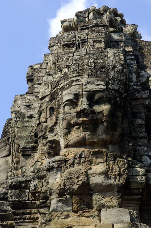 Templo de Cambodia Siem Reap Angkor Wat Bayon fotos de stock