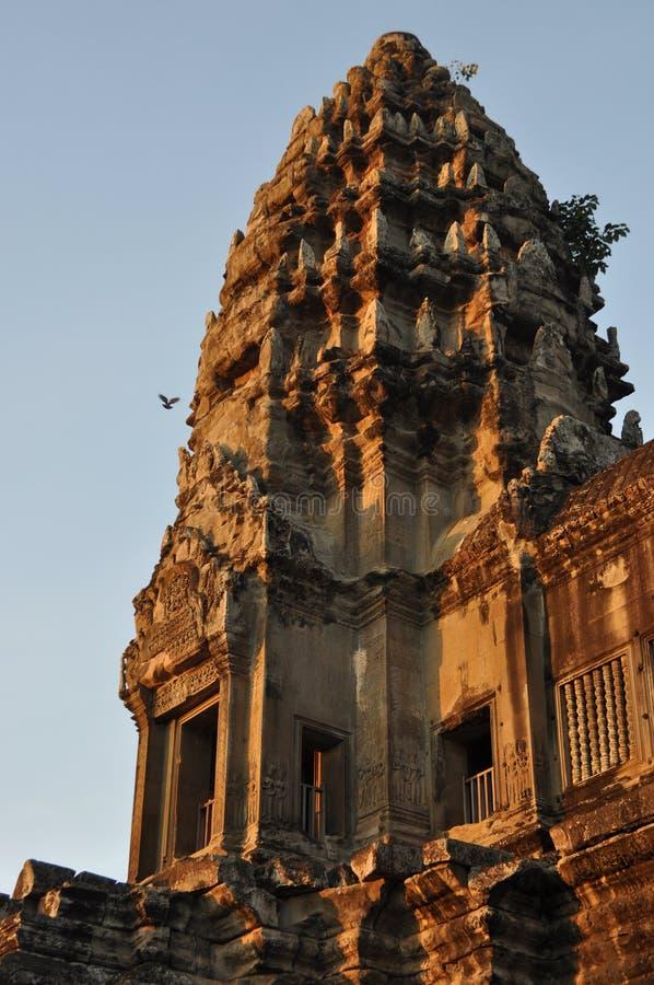 Templo de Camboya - de Angkor Wat imagen de archivo libre de regalías