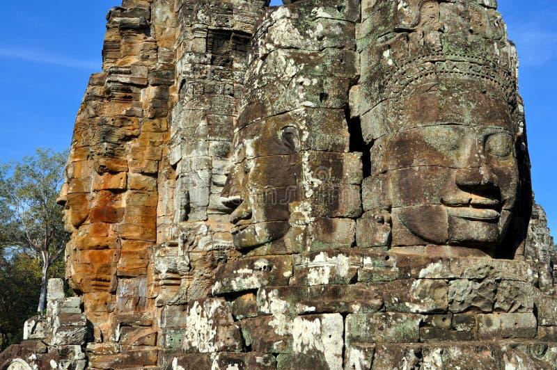 Templo de Camboya - de Bayon fotos de archivo libres de regalías