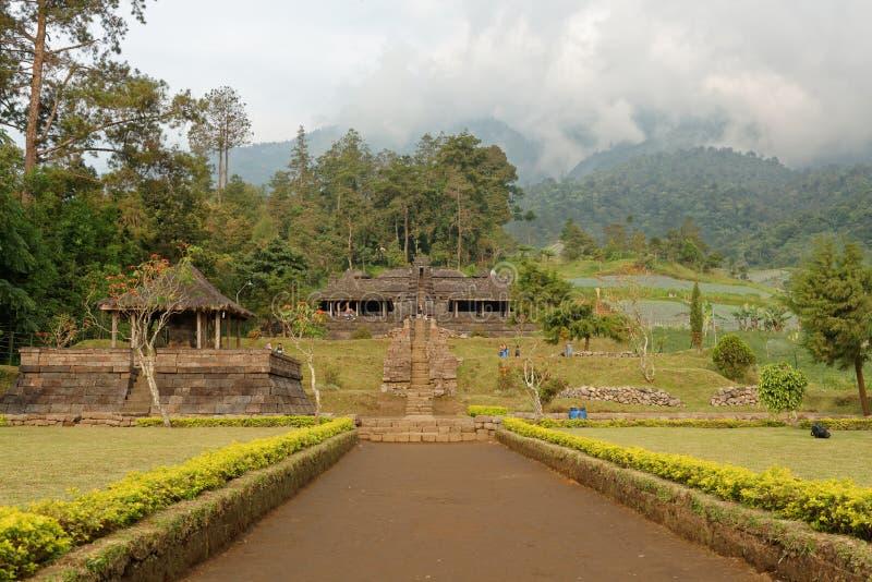 Templo de Ceto en Java central imágenes de archivo libres de regalías