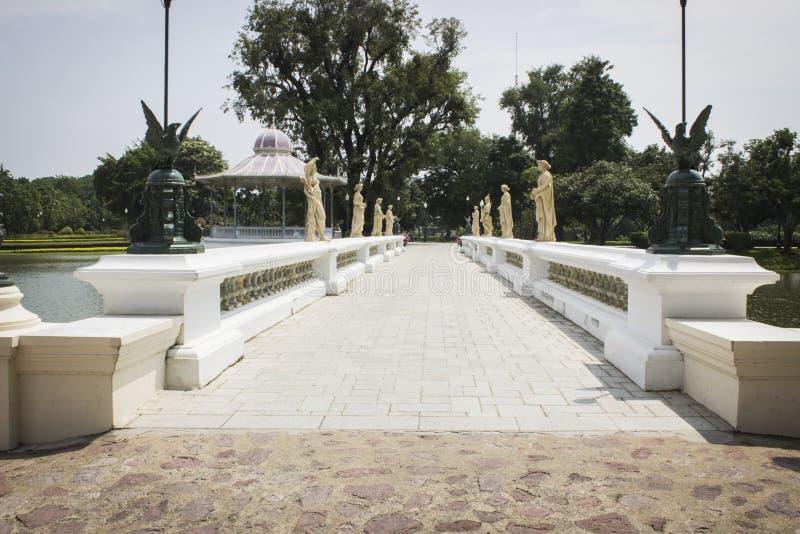 Templo de Chaiwatthan en Ayutthaya imagen de archivo