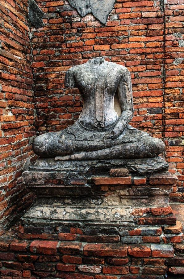 Templo de Chaiwatthanaram en Ayutthaya, Tailandia fotografía de archivo libre de regalías