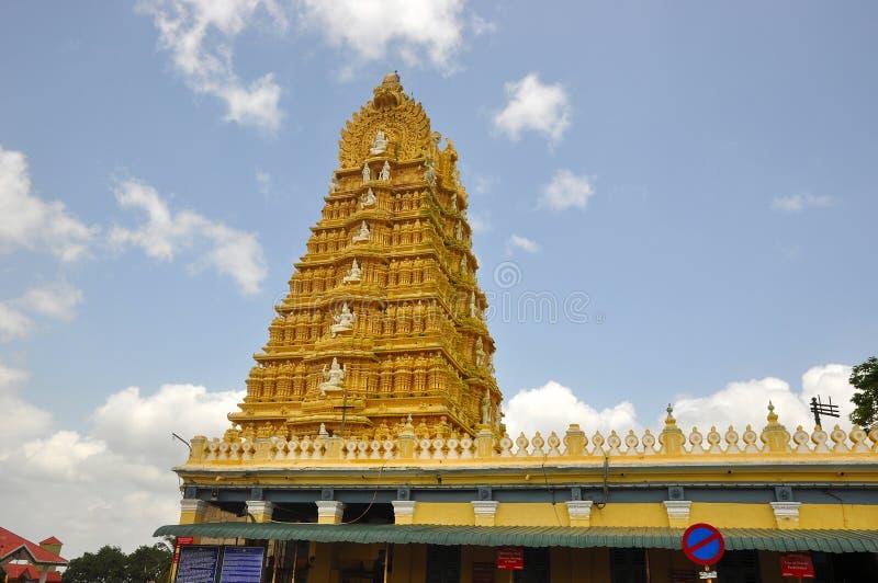 Templo de Chamundeshwari foto de archivo