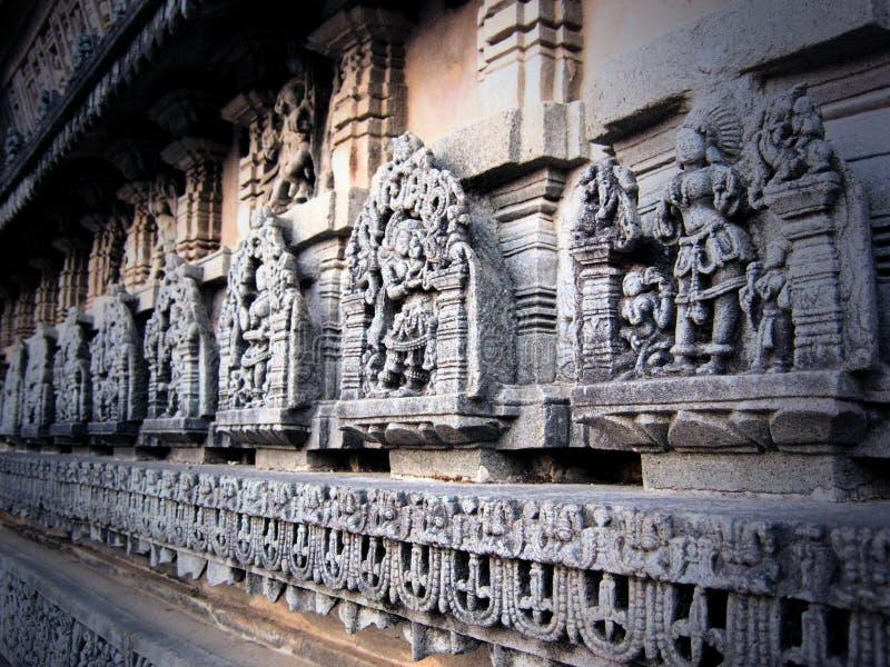 Templo de Chennakeshava en Belur imagen de archivo