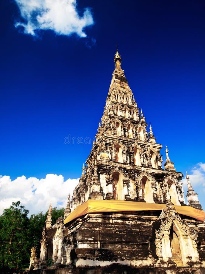 Templo de Chiang Mai imagen de archivo libre de regalías
