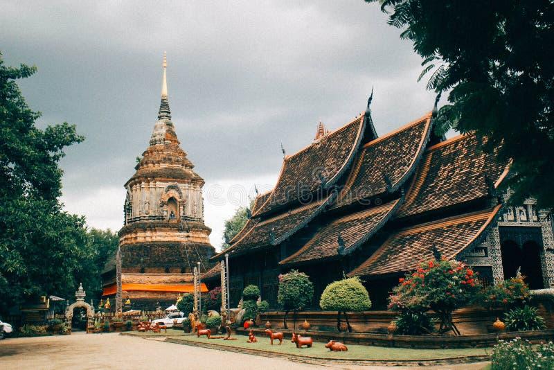 Templo de Chiang Mai imagem de stock