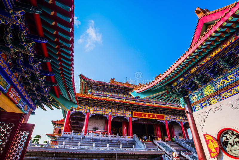 Templo de China foto de stock royalty free