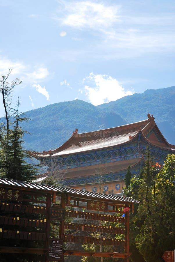 Templo de Chong Sheng fotos de stock