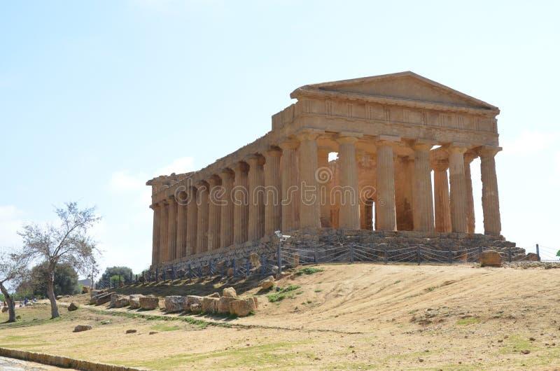 Templo de Concordia, Agrigento foto de archivo