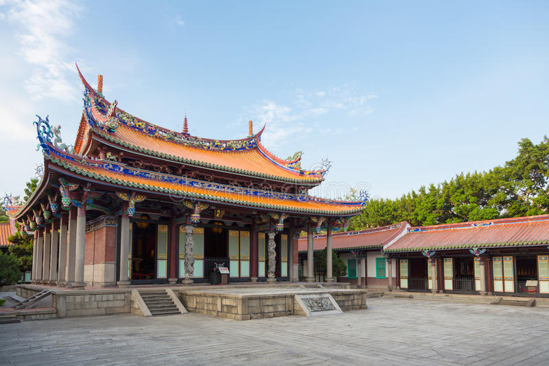 Templo de Confucio en Taipei imagen de archivo libre de regalías