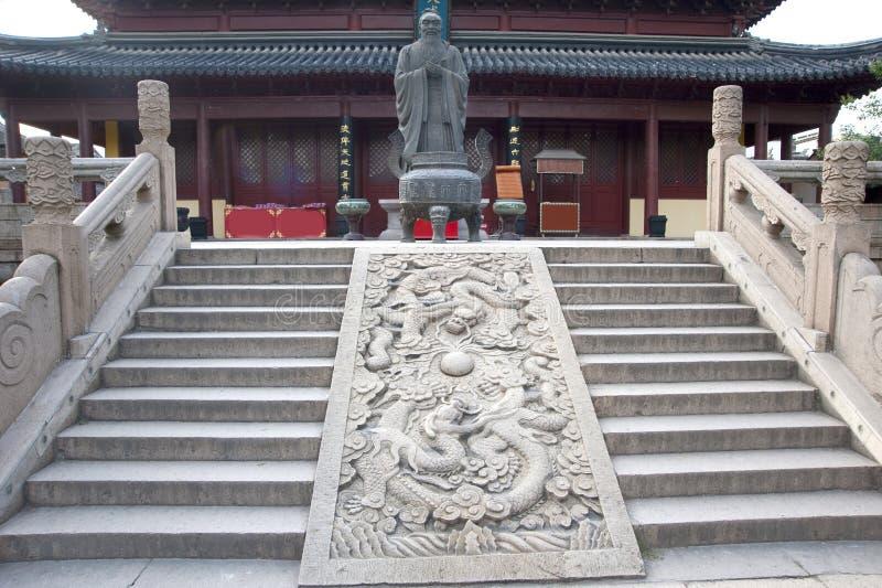 Templo de Confucius imagenes de archivo