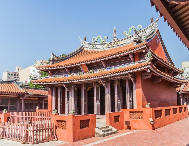 Templo de Confucius fotografia de stock
