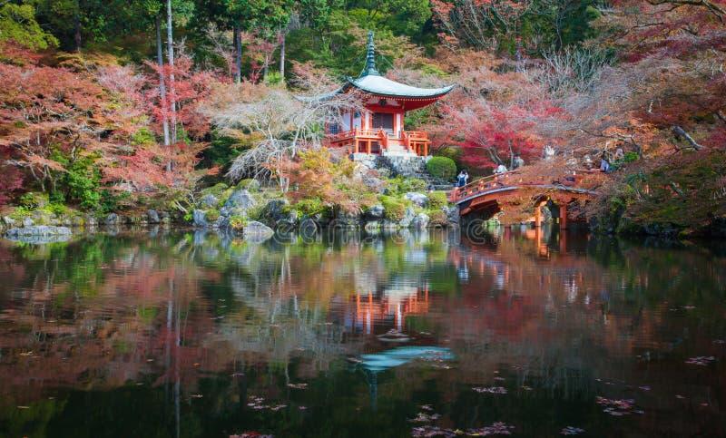Templo de Daigoji del patrimonio mundial, Kyoto imagenes de archivo