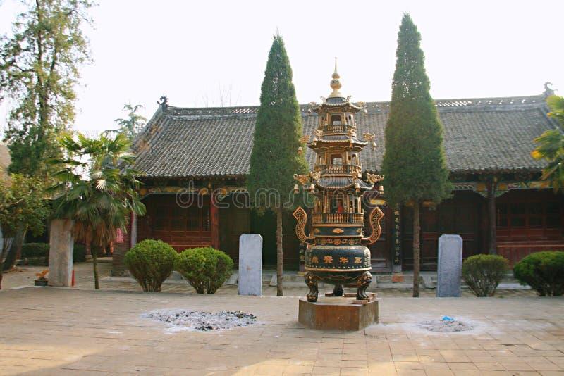Templo de Danxia en Nanyang imágenes de archivo libres de regalías