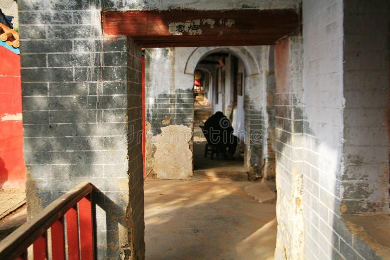 Templo de Danxia en Nanyang foto de archivo libre de regalías