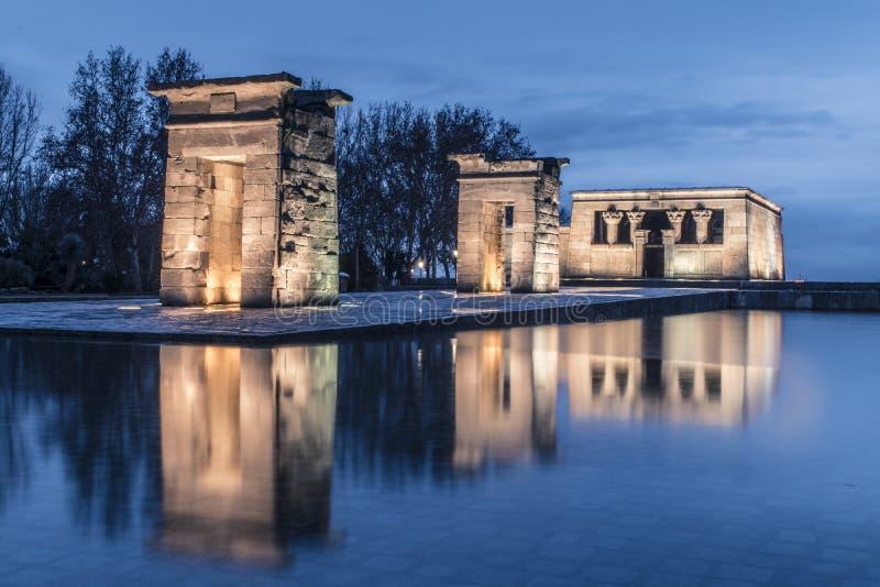 Templo de Debod Temple de Debod imagenes de archivo