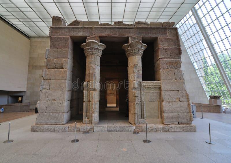 Templo de Dendur fotografia de stock royalty free