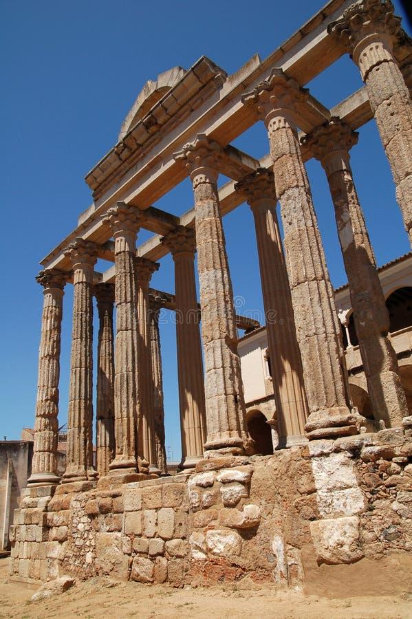 Templo de Diana   imagens de stock