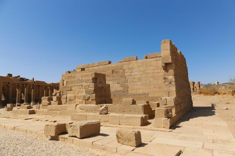 Templo de dios de Horus fotos de archivo libres de regalías