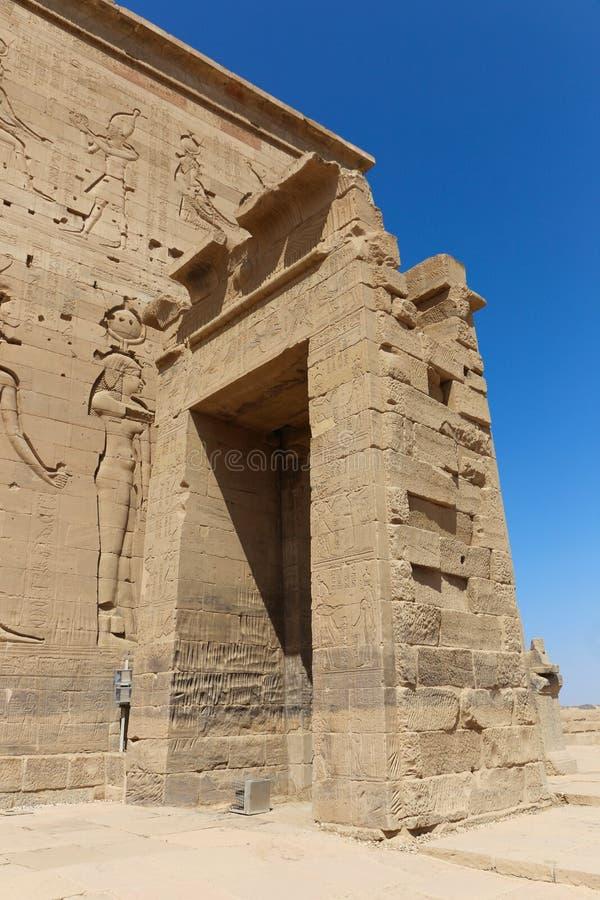 Templo de dios de Horus fotografía de archivo libre de regalías