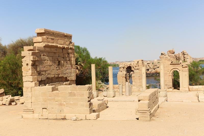 Templo de dios de Horus foto de archivo libre de regalías
