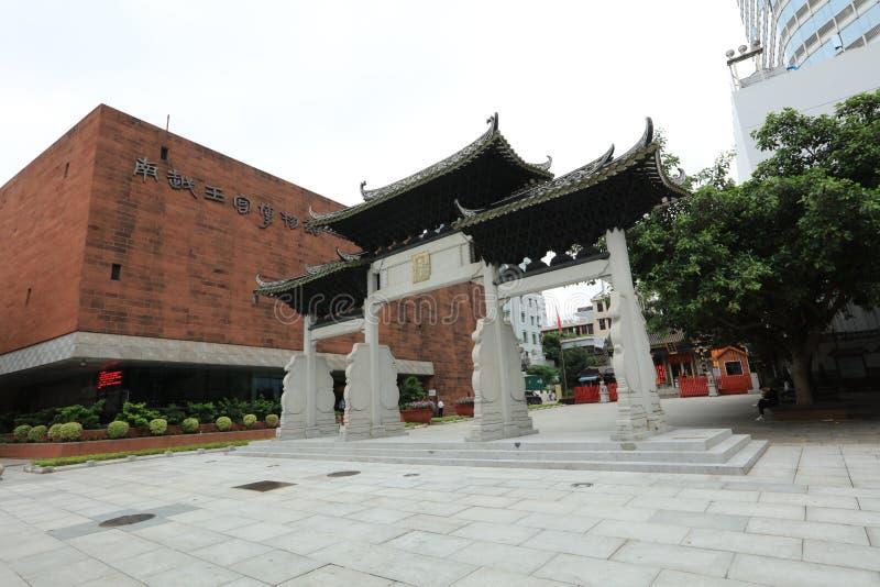 Templo de dios de la ciudad de Guangzhou - un sitio histórico de Guangzhou - Guangdong - China fotos de archivo