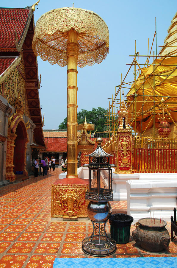 Templo de Doi Suthep, Tailandia fotos de archivo libres de regalías