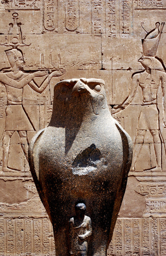 Templo de Edfu imagens de stock royalty free