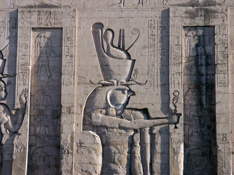 Templo de Edfu, Egipto foto de stock royalty free