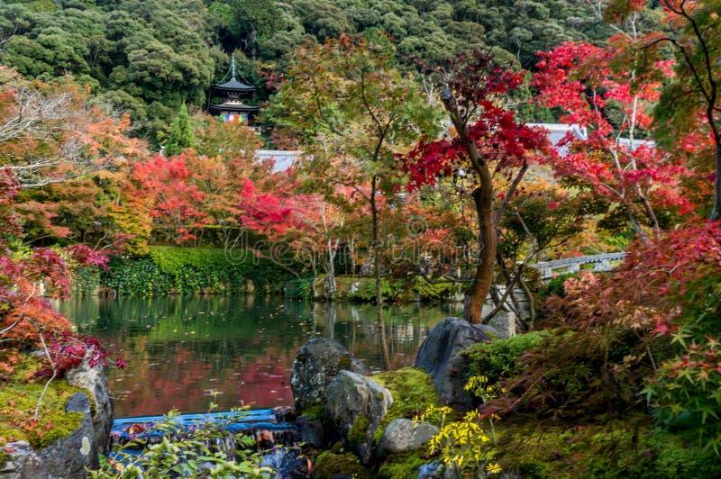 Templo de Eikando imagenes de archivo